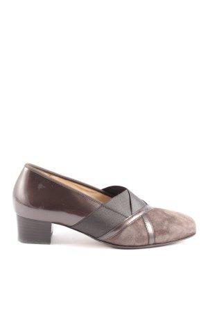 Hassia High Heels braun-schwarz Casual-Look