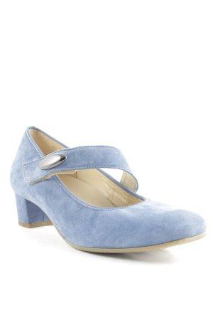 Hassia Mary Jane Pumps hellblau klassischer Stil