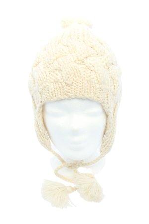 Hat attack Bonnet cache-oreilles crème torsades style décontracté