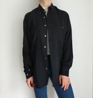 Hatico Performance muster schwarz Hemd True vintage Bluse oversize pulli pullover top Shirt