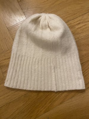 H&M Fabric Hat natural white