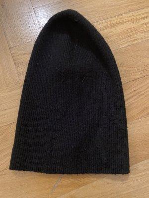 H&M Cappello in tessuto nero