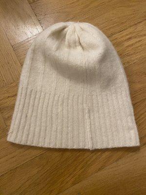 H&M Cappello in tessuto bianco sporco