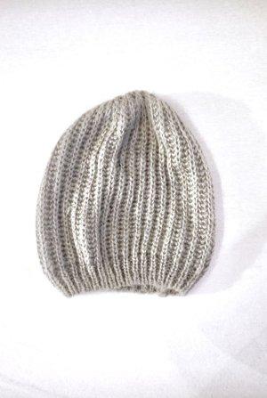 H&M Cappello a maglia grigio chiaro-grigio