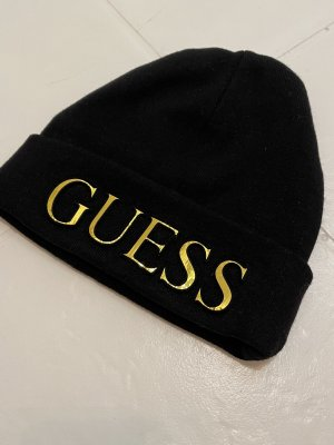 Guess Sombrero de tela negro