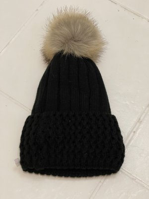 Haube/Mütze schwarz