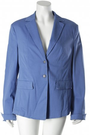 Hauber Blazer stahlblau Business-Look
