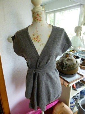 Hauber Short Sleeve Knitted Jacket light brown
