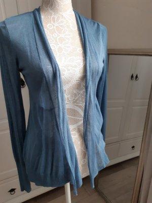 Kontatto Giacca in maglia blu fiordaliso