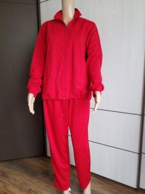 Hajo Completo sportivo rosso mattone