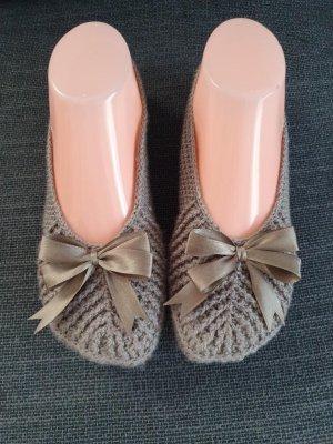 Nako Pantofle brązowy-jasnobrązowy
