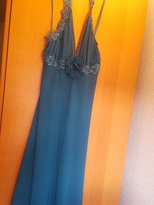 Robe de chambre bleu cadet