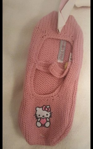 Hello kitty Pantuflas rosa
