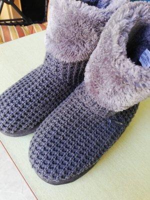 WalkX Pantoufles-chaussette gris