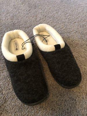 Slipper Socks black-grey