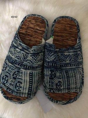 Pantofle Wielokolorowy