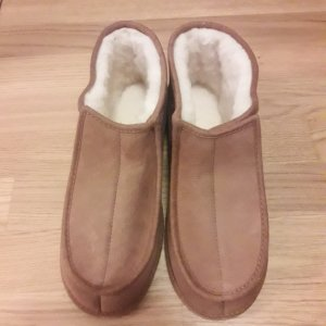 House Shoes light brown leather