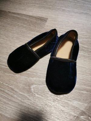 Slipper Socks dark blue