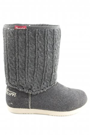 Brakeburn House Boots light grey flecked casual look