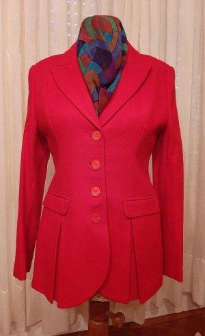 Blazer en laine rouge laine