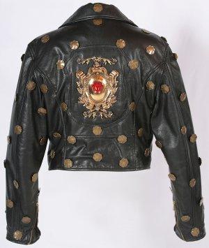 Haute Couture Vintage Lederjacke von Moschino