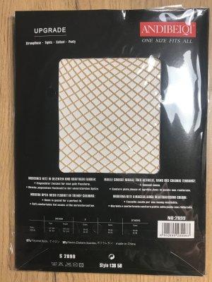 Bottom natural white-beige nylon