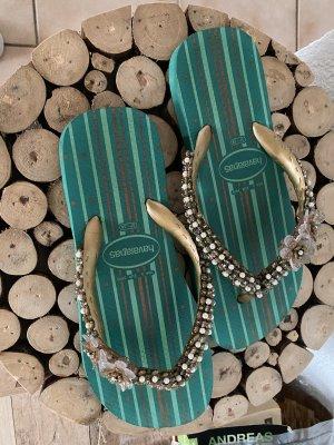 Havaianas Flip-Flop Sandals turquoise