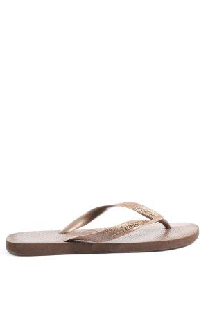 Havaianas Flip-Flop Sandals brown simple style