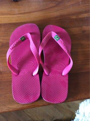 Havaianas Chanclas rosa-verde oscuro