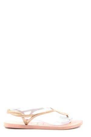 Havaianas Dianette Sandals gold-colored casual look