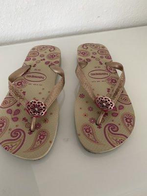 Havaianas Sandalo infradito beige