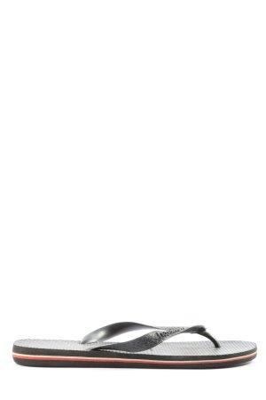 Havaianas Flip-Flop Sandals black casual look