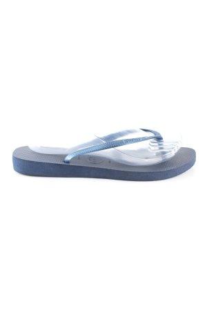 Havaianas Flip Flop Sandalen blau Casual-Look