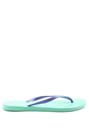 Havaianas Flip Flop Sandalen grün Casual-Look