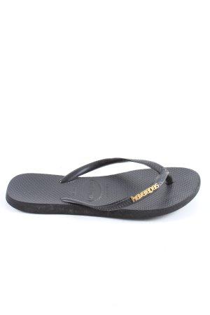 Havaianas Flip Flop Sandalen schwarz Casual-Look
