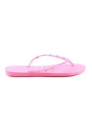 Havaianas Flip Flop Sandalen pink Casual-Look