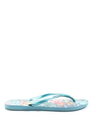 Havaianas Flip Flop Sandalen türkis Casual-Look