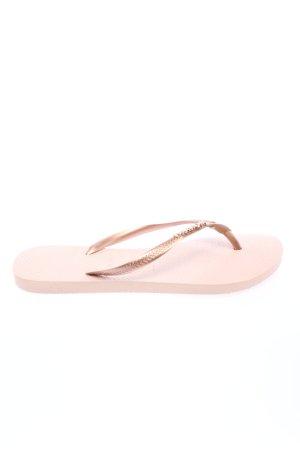Havaianas Flip Flop Sandalen creme-pink Casual-Look