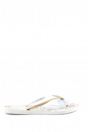 Havaianas Flip-Flop Sandals natural white casual look