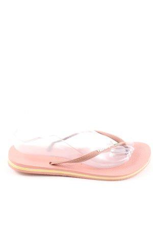 Havaianas Flip flop sandalen roze casual uitstraling