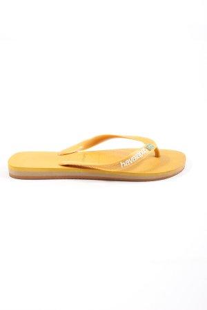 Havaianas Flip Flop Sandalen hellorange Casual-Look