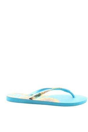 Havaianas Flip Flop Sandalen Blumenmuster Casual-Look
