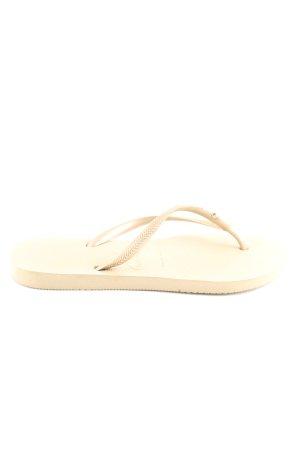 Havaianas Flip Flop Sandalen wollweiß Casual-Look