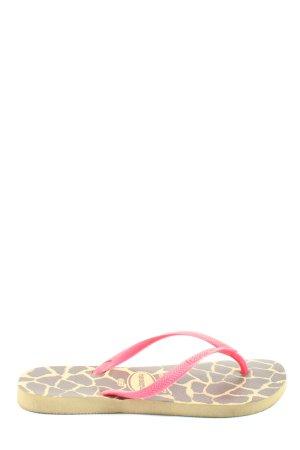 Havaianas Flip Flop Sandalen abstraktes Muster Casual-Look