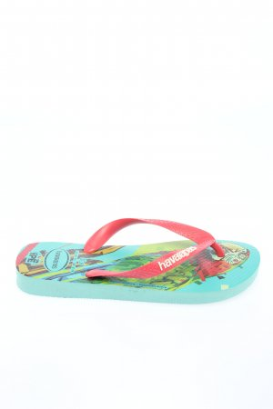 Havaianas Flip Flop Sandalen rot-weiß Casual-Look
