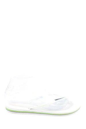 Havaianas Flip Flop Sandalen weiß Casual-Look