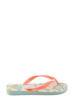 Havaianas Flip Flop Sandalen Allover-Druck Casual-Look
