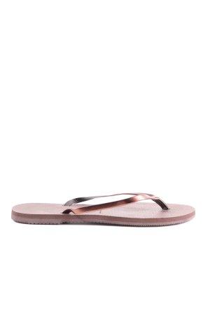Havaianas Flip Flop Sandalen lila Casual-Look