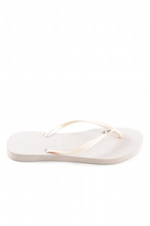 Havaianas Flip Flop Sandalen creme-wollweiß Casual-Look