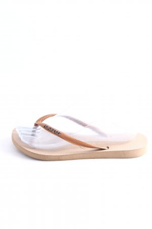 Havaianas Flip Flop Sandalen braun Casual-Look